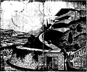 Montecito View House as shown in Mutual Building Company's advertising pamphlet